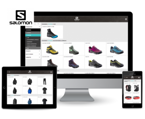 apercu application catalogue salomon