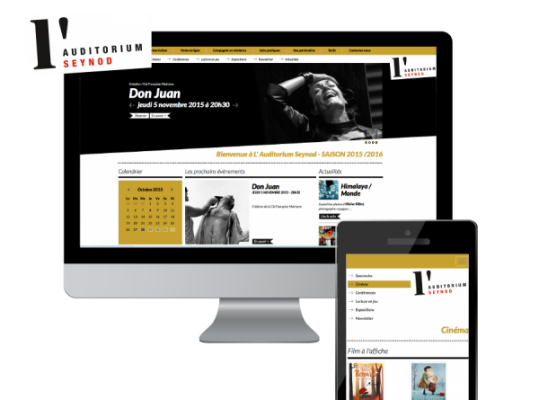 site-web auditorium de seynod