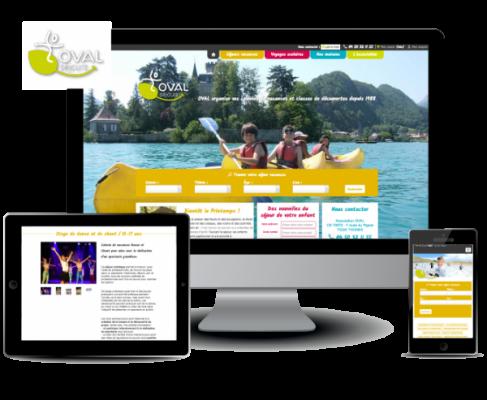 Site web e commerce pour pr sentation et r servation de for Site de reservation